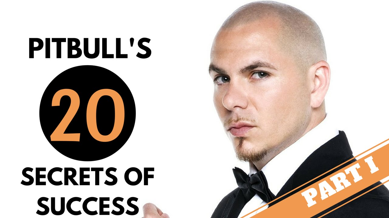 pitbull top secrets of success the interview s part pitbull 2016 top 20 secrets of success the interview s part 1 dom