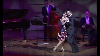 """""""La Milonga de Buenos Aire"""", Javier Rodriguez & Fatima  Vitale,  Solo Tango Orquesta,"""