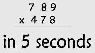 Maths Shortcut : 3 Digit Multiplication ( Secret maths tricks )