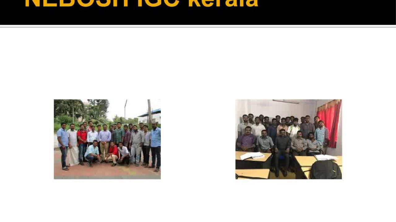 NEBOSH IGC Kerala