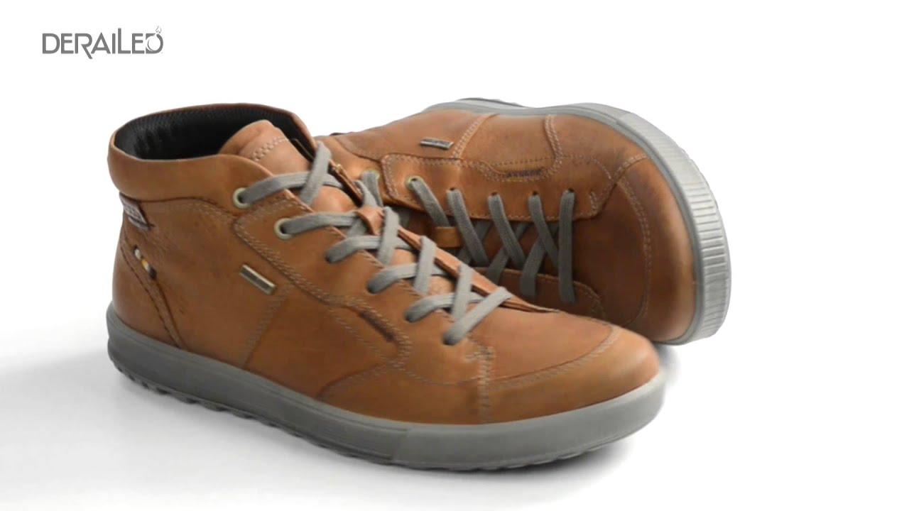 26e3e32be8e60 Ecco Bradley Gore-Tex® Boots - Waterproof (For Men) - YouTube