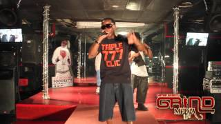 "Triple 777 performing ""Bossed Up"" at Deja Vu"