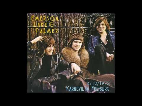 Emerson, Lake & Palmer (ELP) Live In Freiburg, Germany 4/12/1973