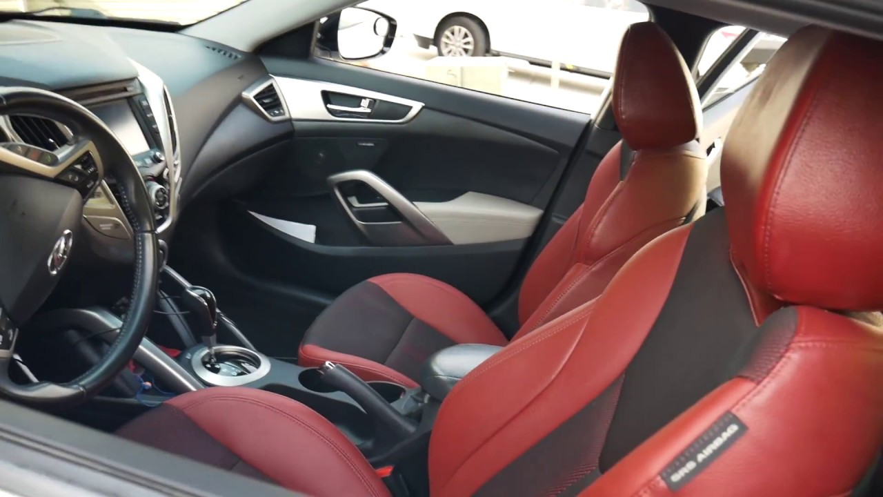 How To Install Red Seats In A Veloster Youtube