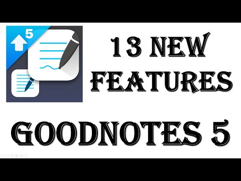 Goodnotes5 review what's New - Technoholicplus