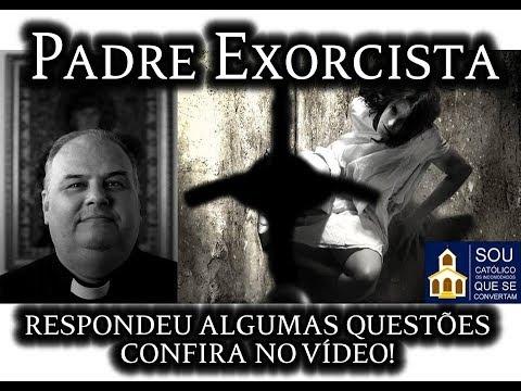 Entrevista com um padre exorcista brasileiro.