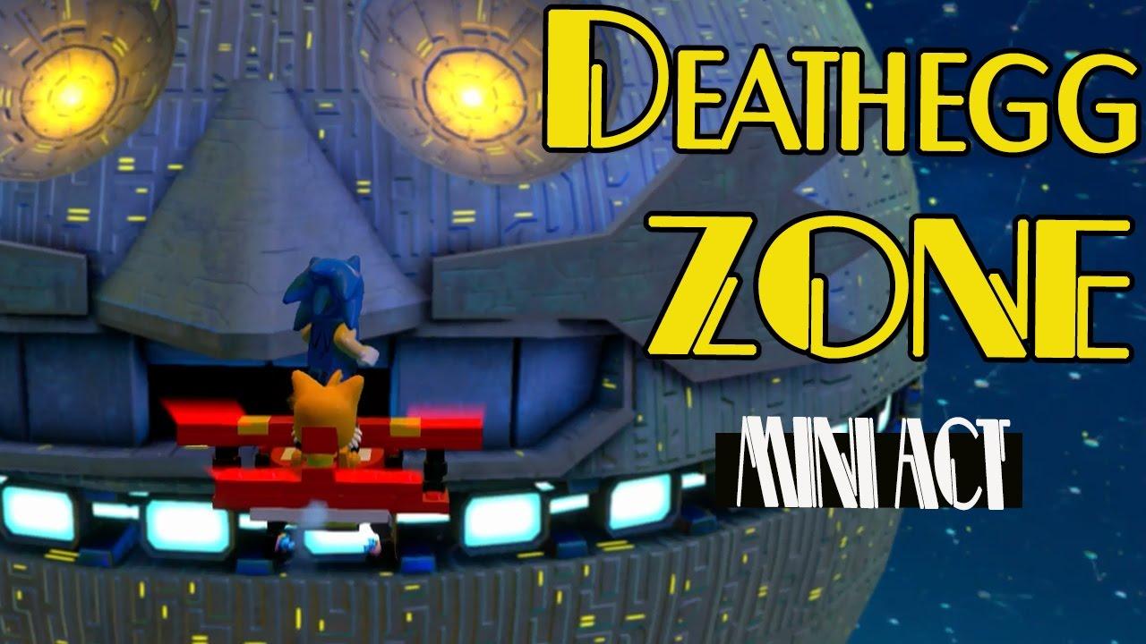 Lego Sonic Dimensions Death Egg Mini Zone Youtube