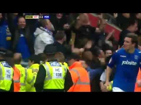 David Norris Goal - Southampton vs Portsmouth