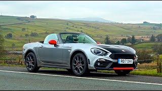 Abarth 124 Spider Vs. Evo Triangle! | First Impressions Drive.