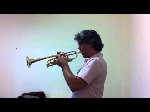 CONCONE - Lyrical Studies for trumpet - N. 17 - Allegretto