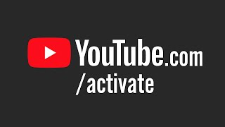 YouTube.com/activate TV