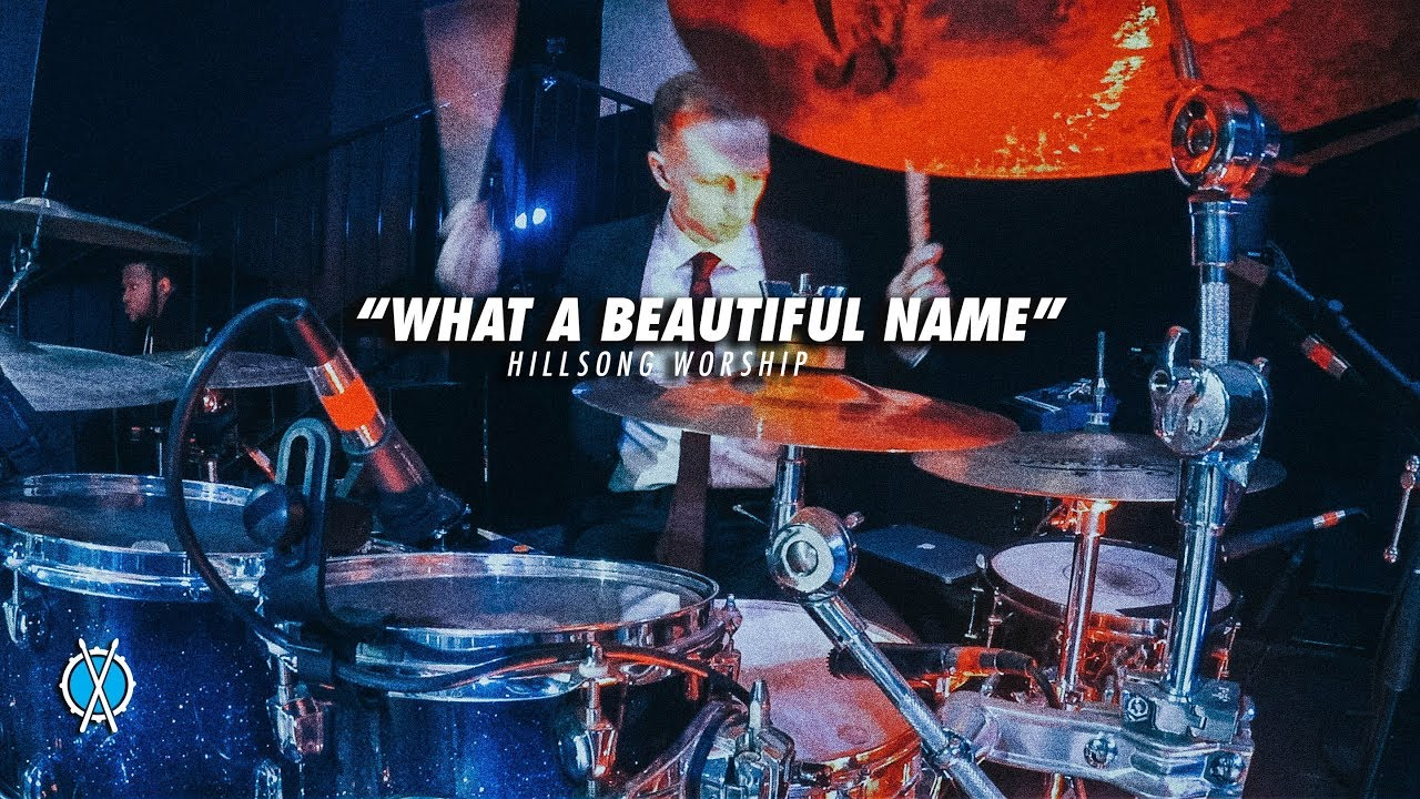 What A Beautiful Name Drum Cover // Hillsong Worship