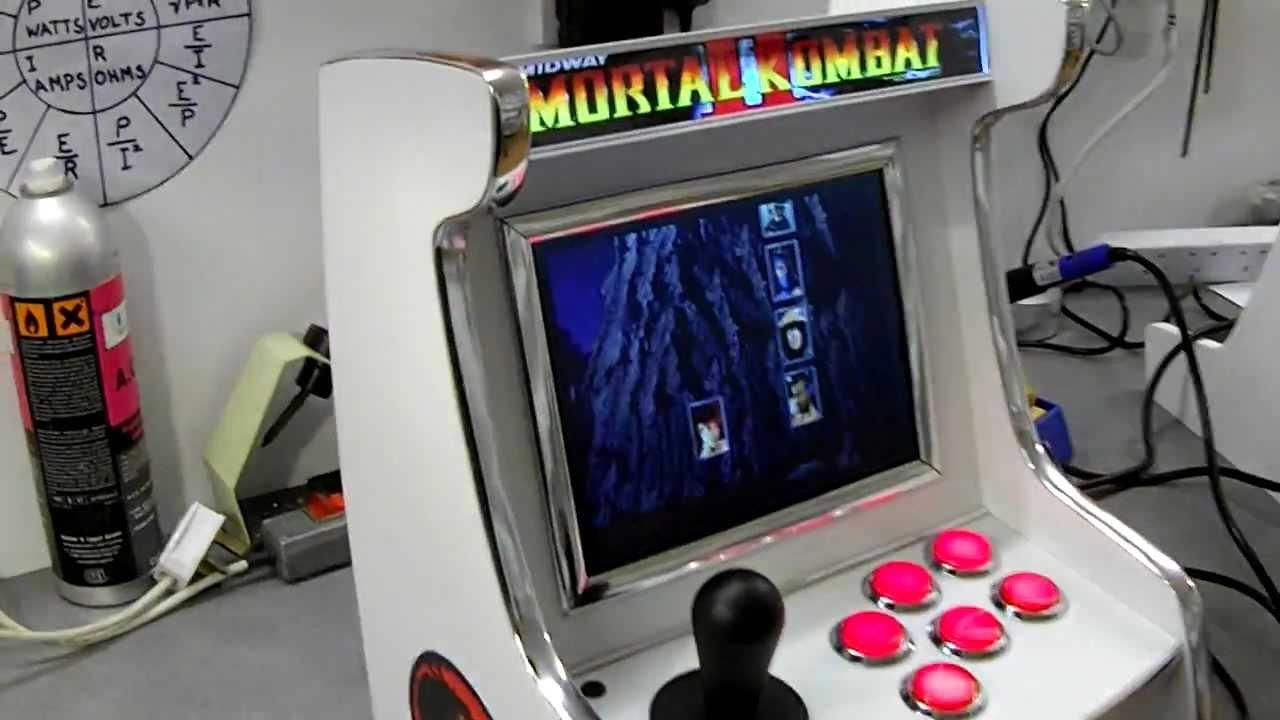 Playstation 2 Mini Arcade Machine - YouTube