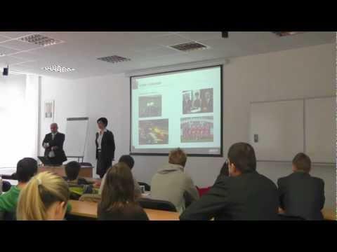 Vyžádaná přednáška: Klaudia Kocmanová (EPB), Marek Dlouhý (Erste Private Banking) 8.11.2012