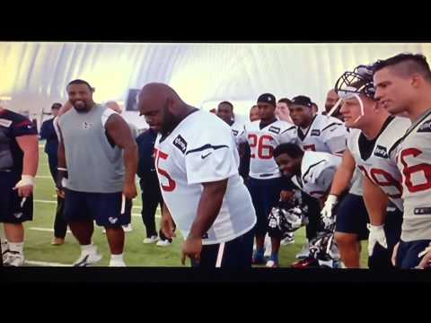 Hard Knocks: Carli Lloyd vs. Vince Wilfork (FG Contest)