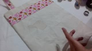 Ecobag Arara – Dicas de pintura com Rosana Duran – Parte 1