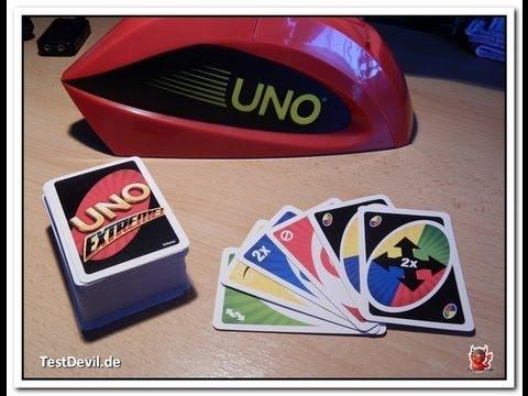 Spielanleitung Uno Extreme