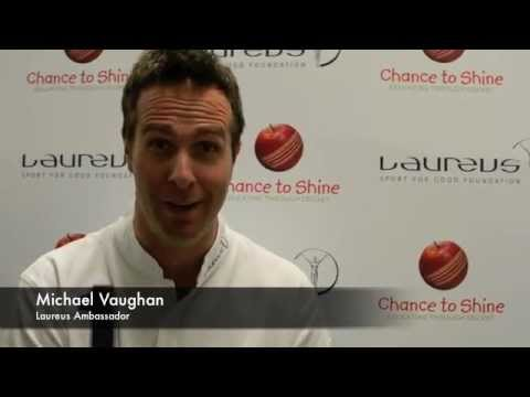 Join Michael Vaughan on his bike ride for Laureus and Chance to Shine
