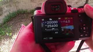 Pentax KP electronic shutter camera overview