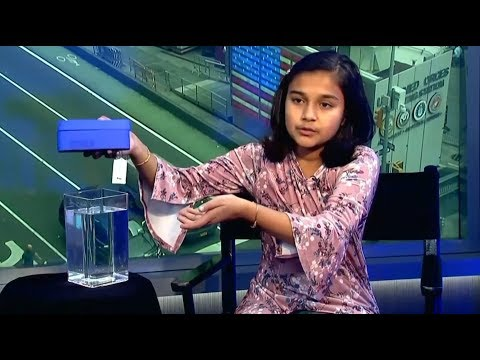 Young scientist invents device that detects lead in water