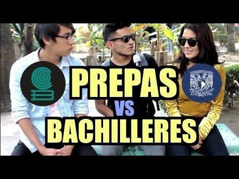 PREPAS UNAM VS BACHILLERES