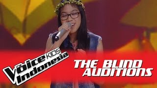 "Dian ""Mimpi Adalah Harapan"" I The Blind Auditions I The Voice Kids Indonesia GlobalTV 2016"