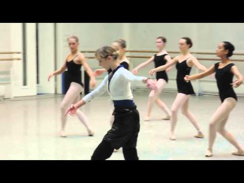 Sarah Lamb teaches Pointework for Dance Forward