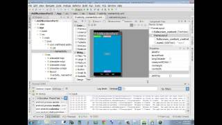 Android Studio - App Development - Lesson 1 - Adding Two Numbers App