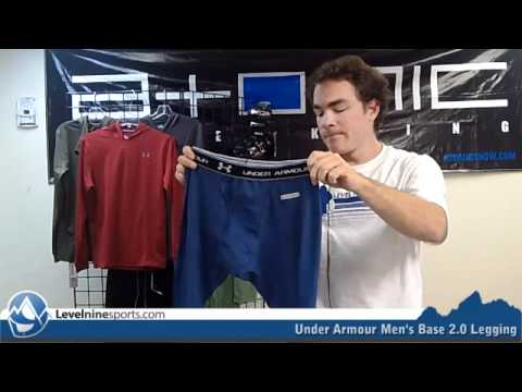 44b0d2d96028cf Under Armour Men's Base 2.0 Legging - YouTube