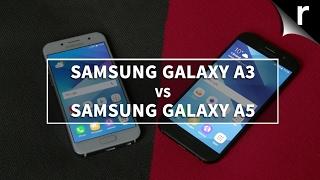 Samsung Galaxy A3 2017 vs Samsung Galaxy A5 2017