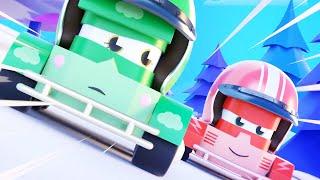 Truck Games - Гонка ралли Мультфильмы с грузовиками для детей -