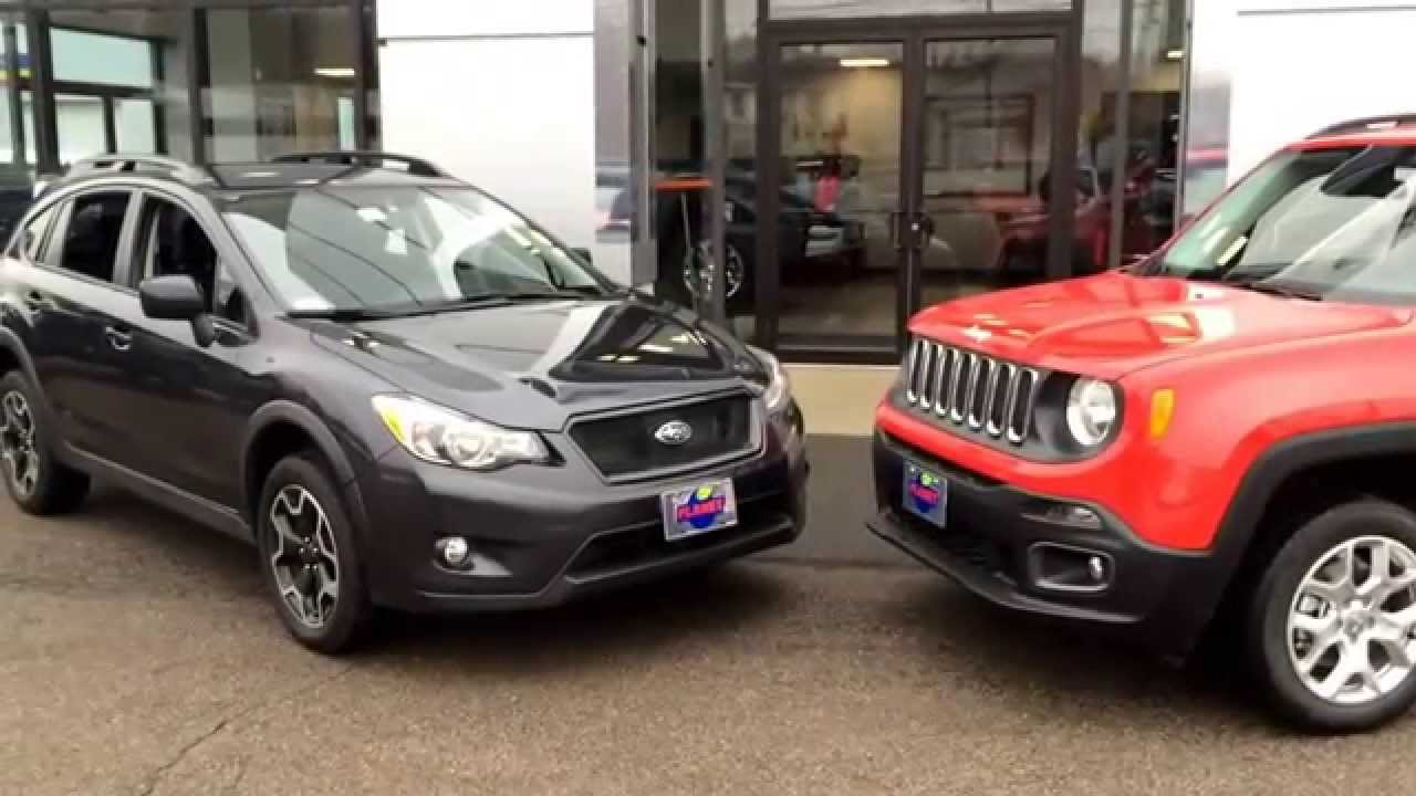 Subaru Crosstrek vs Jeep Renegade | Boston Subaru Dealer