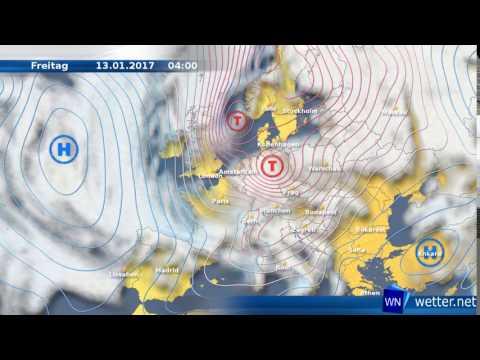 Sturmtief Egon sorgt für heftige Turbulenzen