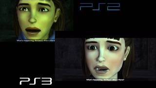 Tomb Raider Legend - PS2 vs PS3 Comparison