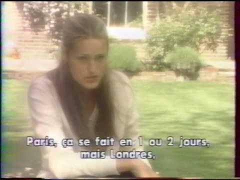 Courant d'Airs Yasmin Le Bon interview 1993