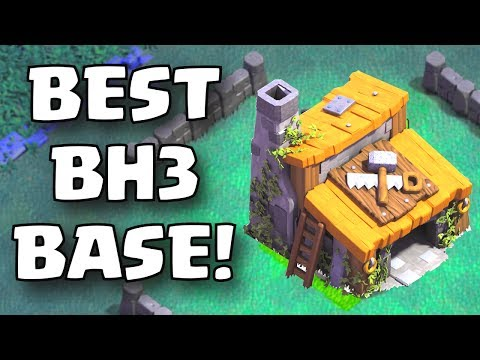 Clash of Clans BEST BUILDER HALL 3 BASE LAYOUT | Clash of Clans BUILDER HALL 3 BASE ATTACK STRATEGY