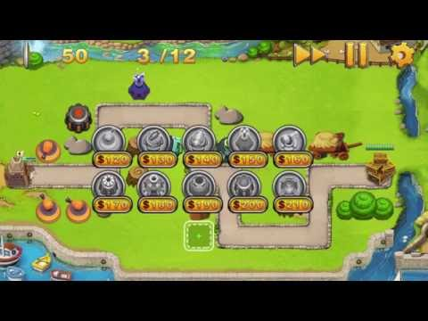 Army Defense (Tower Defense) gameplay!
