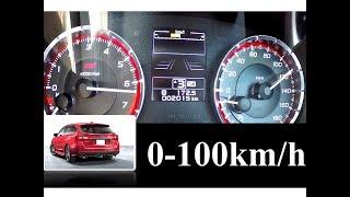 【0-100km/h 加速】 SUBARU LEVORG 2.0 STI sport Eyesight 水平対向4気筒直噴ターボ!! 2.0L CVT