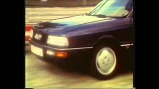 Telemotor test Audi 90 2.3 BMW 320i Mercedes 190E 2.3