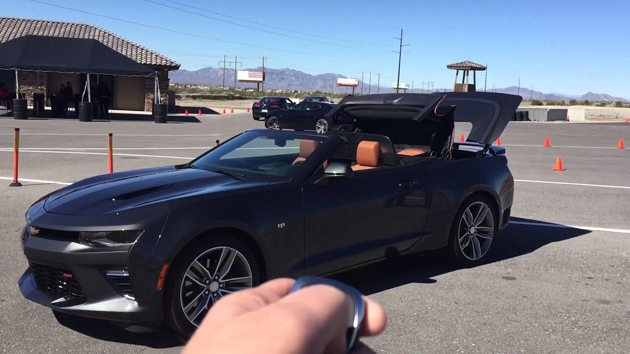 2016 Chevy Camaro Convertible Remote Control Key Fob Youtube