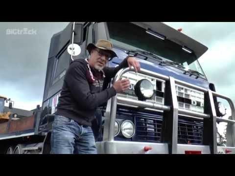 Australian DAF truck back in Holland