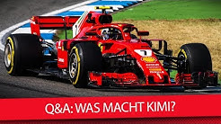 Kimi Räikkönen: Wo fährt der Iceman 2019? - Formel 1 2018 (Q&A)