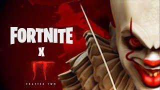 Fortnite X IT Chapter 2 - Trailer de l'événement (Gratuit IT 2 ITEMS - PENNYWISE SKIN Challenges)