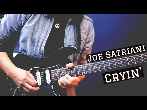 Cryin' - Joe Satriani (Cover) by Jack Thammarat