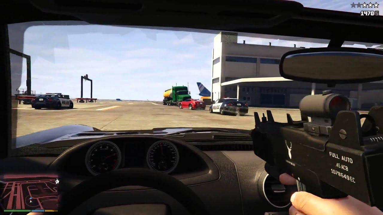 GTA 5 First Person Gameplay Trailer - GTA 5 Next Gen - YouTube