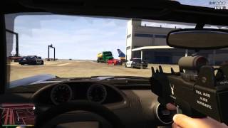 GTA 5 First Person Gameplay Trailer - GTA 5 Next Gen