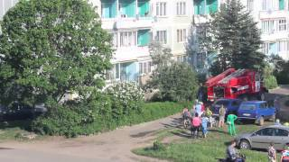 Пожар в поселке Калашниково, 27 мая 2014