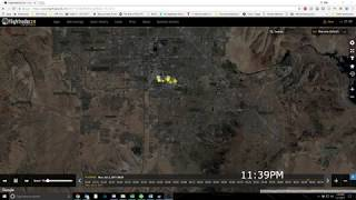 Las Vegas Shooting Flight Radar Data