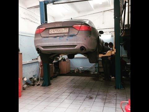 Диагностика AUDI A5 РЕМОНТ НА КОЛЕНКАХ Автосервис в Москве, Ремонт автомобилей