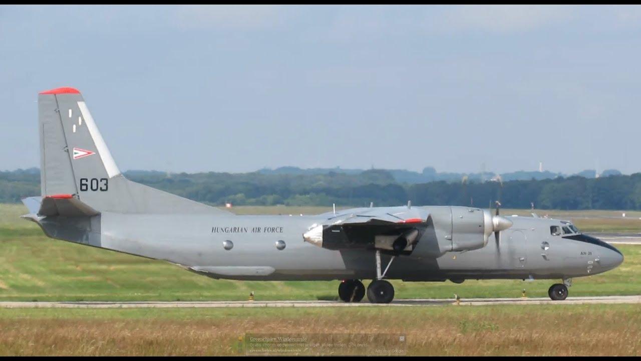 Geilenkirchen Airbase 18-06-2012: Antonov An26, 603, Hungarian Airforce,  Departure (4)
